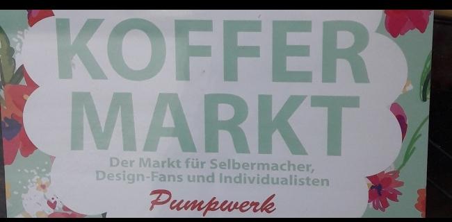 Kreativer Koffermarkt in Wilhelmshaven