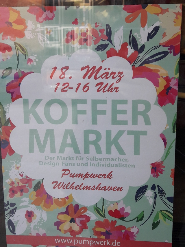Koffermarkt in Wilhelmshaven am 18.03.2018