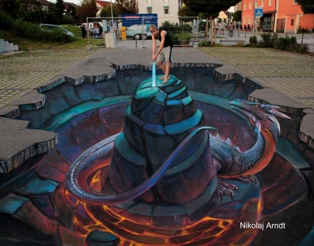 Street Art Festival Wilehlmshaven Nikolaj Arndt Künstler